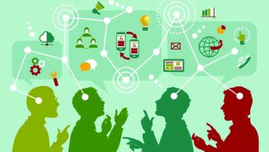التواصل بين افراد المجتمع