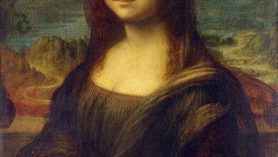 لوحة الموناليزا