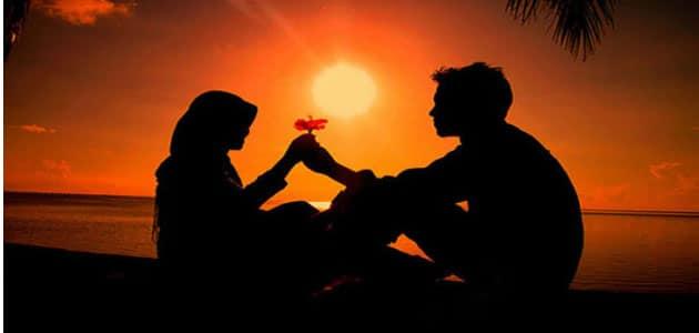 التحدث مع شخص تحبه في المنام