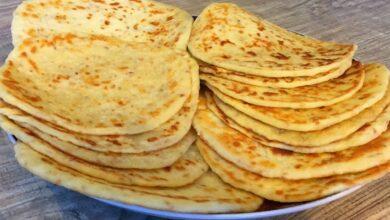 خبز البارتا الهندي