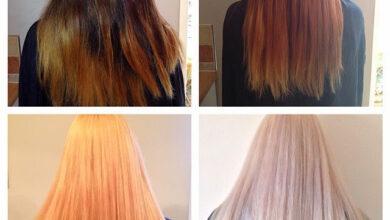 ما يحدث عند سحب لون الشعر
