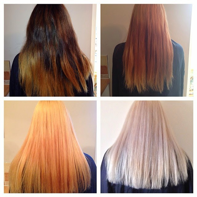 اضرار سحب لون الشعر ووصفات طبيعية لسحبه