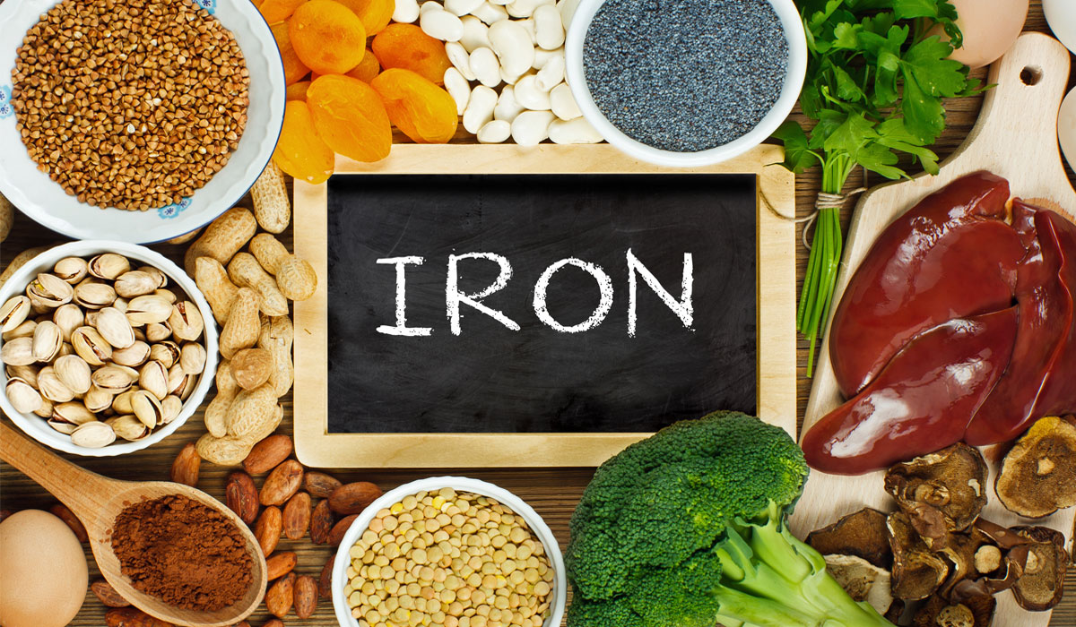 ماهي اعراض نقص الحديد علي الجسم