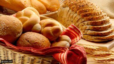 خبز في سلة