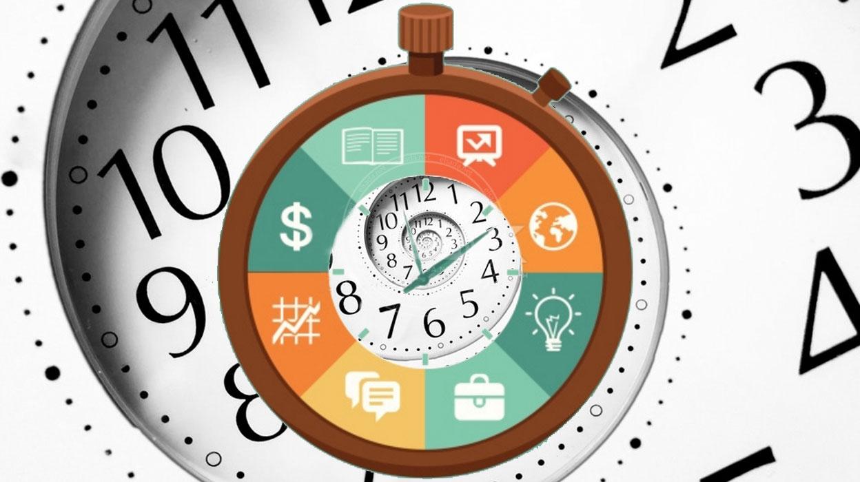 تقنيات داخل الساعة