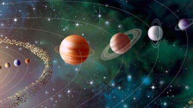كواكب حول الشمس