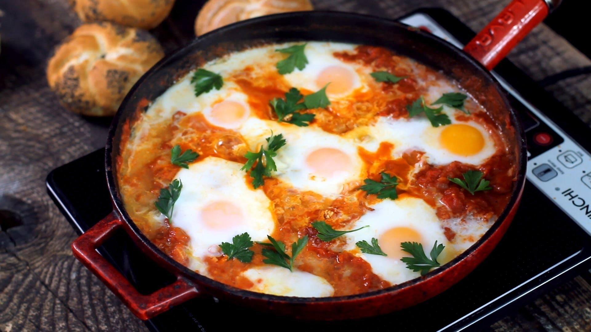 البيض المقلي