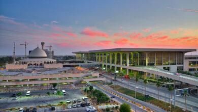 مطار الملك فهد في المملكة العربية السعودية