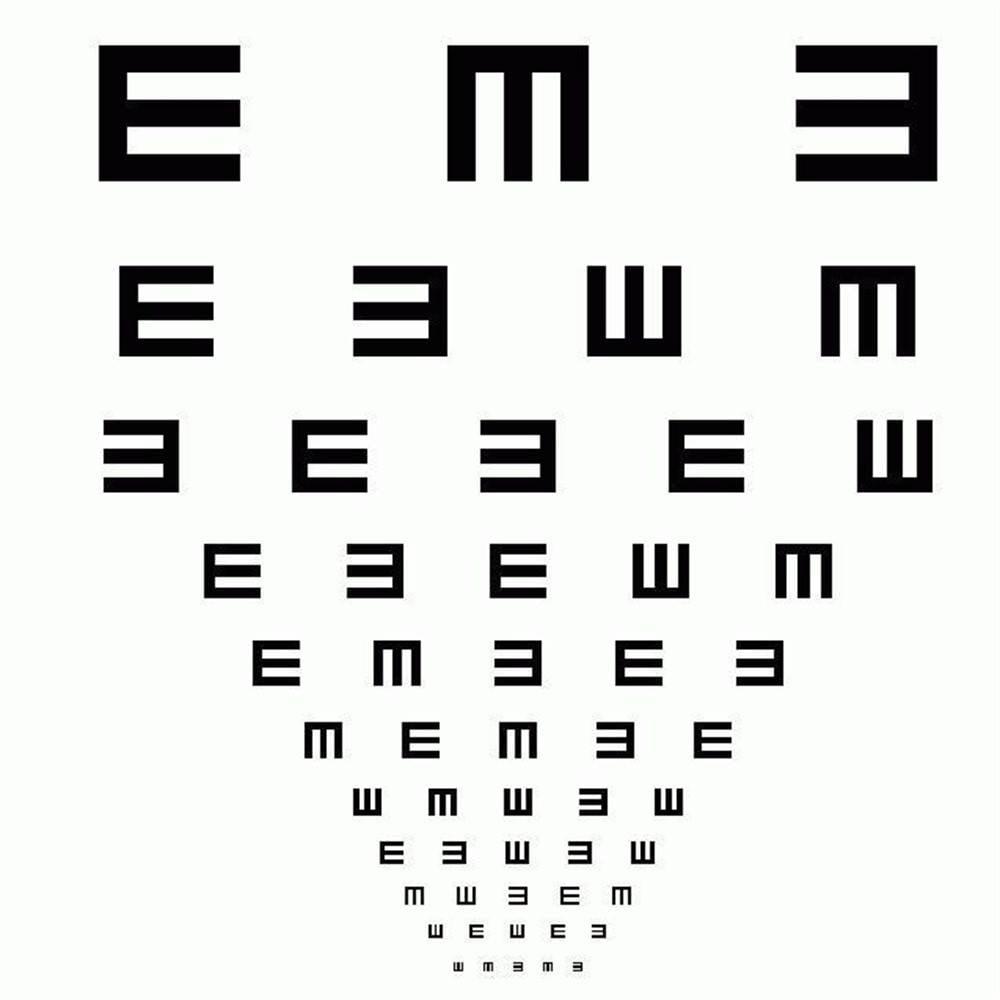 اختبار فحص النظر وأعراض المشاكل البصرية