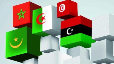 أعلام دول المغرب العربي