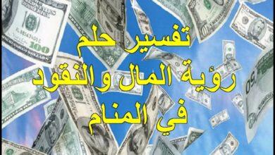 تفسير حلم رؤية المال