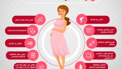 ارشادات للحامل