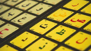 تشكيل الحروف في اللغة العربية