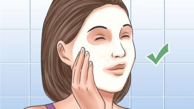 كيفية تنظيف بشرة الوجه