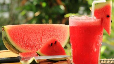 معلومات عن عصير البطيخ