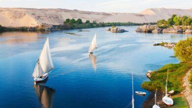 صور نهر النيل.