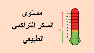 مستوى السكر التراكمي الطبيعي