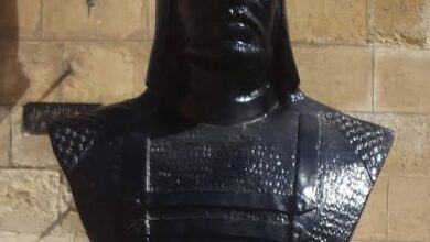 مجسم للظاهر بيبرس