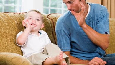 كيفية جعل الطفل يتحدث