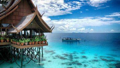 جزر و شواطئ ماليزيا.