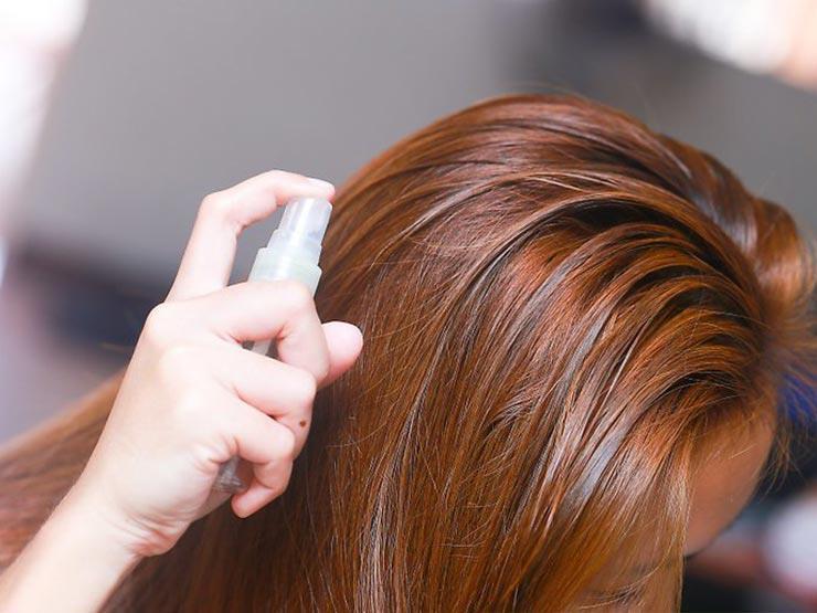 علاج الشعر المصبوغ