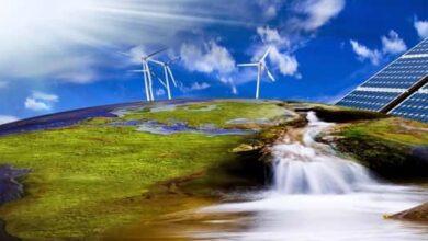 صورة لطاقة المتجددة