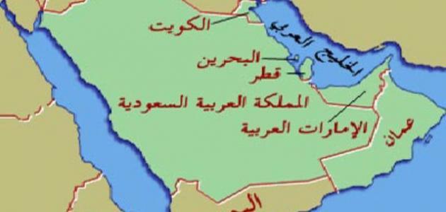 صور عن خريطة شبه الجزيرة العربية القديمة