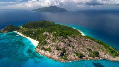 جزر في المحيط الهادي