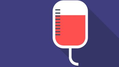 نسبة الدم الطبيعي
