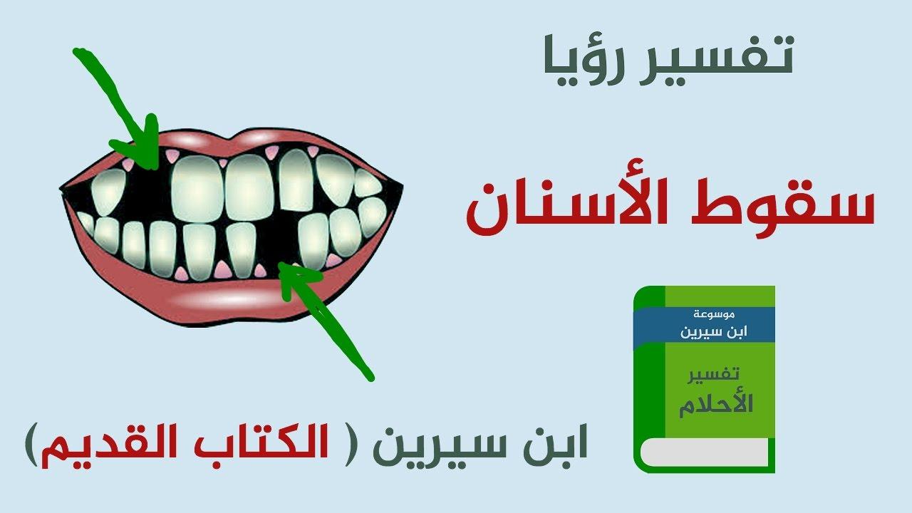 تفسير رؤيا سقوط الأسنان