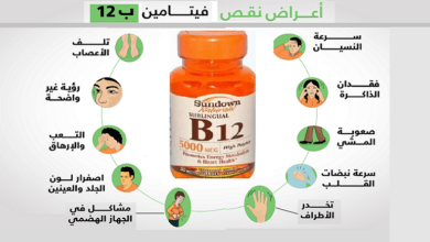 اسباب نقص فيتامين ب12