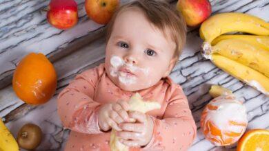 غذاء الاطفال في الشهر الرابع