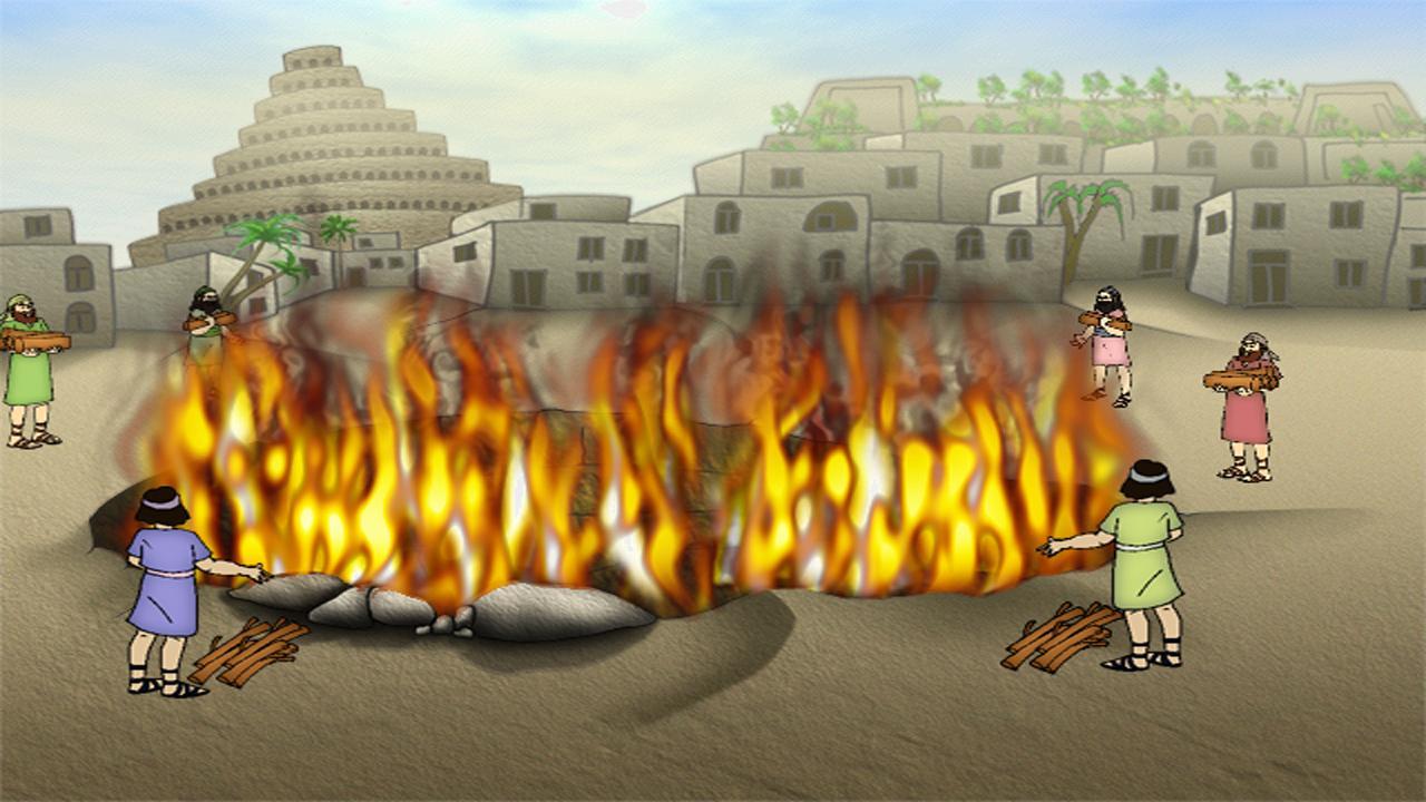 إلقاء إبراهيم عليه السلام في نار قومه
