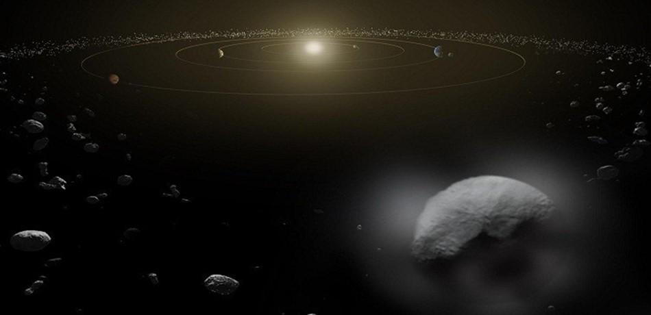 اكتشاف الاجرام السماوية