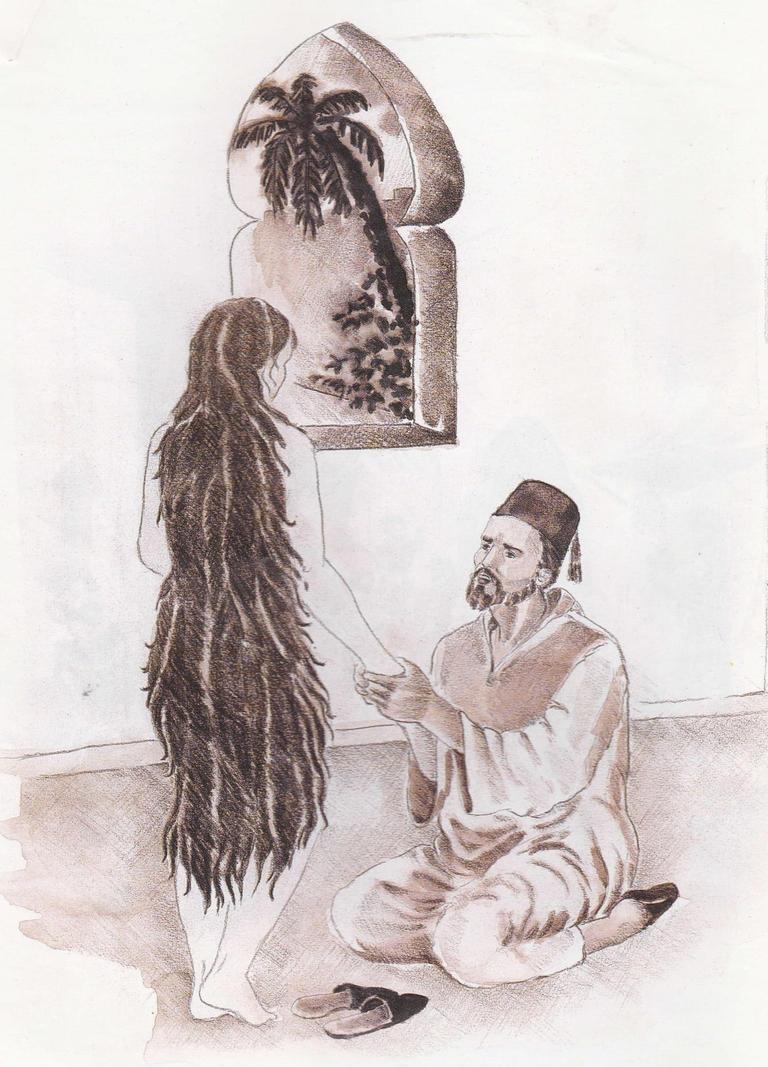 أبو نواس وجنان
