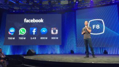 مارك في مؤتمر فيس بوك