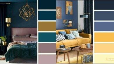 تنسيق ألوان الجدران
