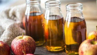 خل التفاح أفضل أنواع الخل الطبيعي.