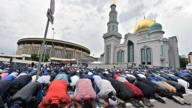كم عدد المسلمين في روسيا