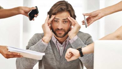 تعبير الضغط النفسي