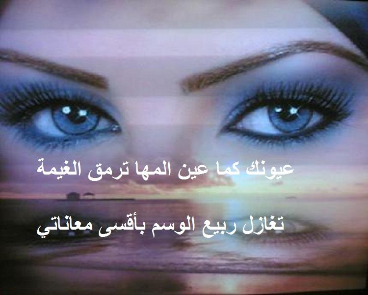 كلام حلو عن العيون