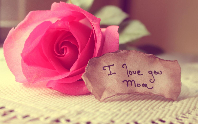 أحبك يا أمي.