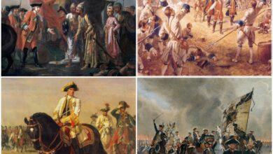 معلومات تاريخية عن حرب المئة عام