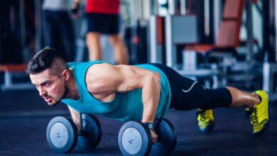 تمارين زيادة حجم العضلات