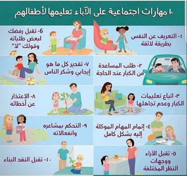 مهارات هامة للأطفال