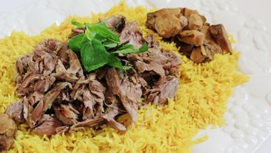 طبخة الفقع مع اللحم