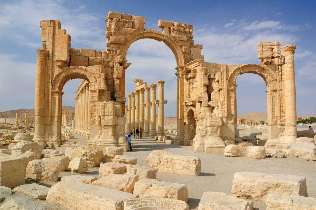 اهم الاثار السورية